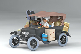 The Ford T 1/24 model car Voiture Tintin  2019 Tintin in the congo