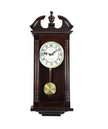 Bedford Clock Collection 27.5 Inch Chery Oak Wall Clock - $101.05