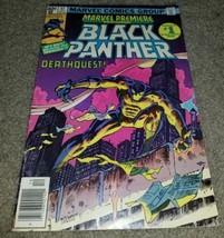 Comic Book Marvel Premiere 51 Black Panther Key Bronze 12/79 1st Black Hero - $1.99