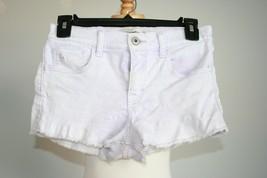 abercrombie & fitch lavender acid wash shorts size 16 - $13.85
