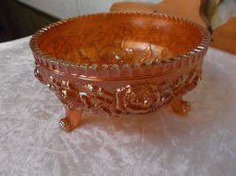 Vintage 3 Toed Imperial Open Rose Lustre Saw Tooth Edge Fernery *EVC* - $49.49