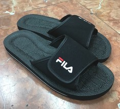 Men's Fila Black Flip Flops  - $36.00
