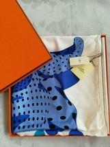Hermes Scarf Stole I HOLA FLAMENCA Dimitri Blue Spanish Dance Flamenco S... - $434.46