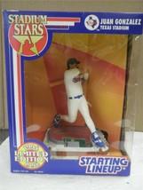 Start Lineup- Stadium Sterne Juan Gonzalez / Texas Stadium- Neu L156 - $5.88