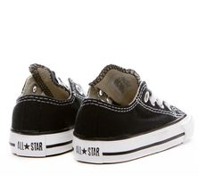 Converse All Star Chuck OX 3J235 Canvas Black Preshool Shoes *NO BOX image 3