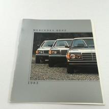 1983 Mercedes-Benz 300 CD/300 SD/380 SEL Dealership Car Auto Brochure Catalog - $16.35