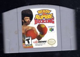 Ready To Rumble  Boxing Nintendo 64 - $14.95