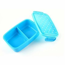Polka Dots Pattern Microwavable Bento Lunch Box For Children PP Plastic ... - $9.95