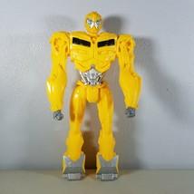 "Hasbro Transformer 11.5"" Tall Yellow Green Eyes Action Figure Bubblebee ... - $20.29"
