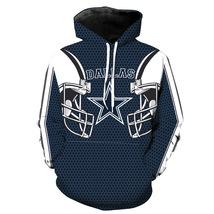 New Dallas Cowboys NFL Football Team Sport Hoodie Print Women Men Pullover Coats - $34.49