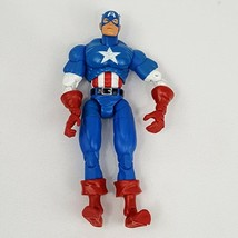 "Marvel Legends CAPTAIN AMERICA Series 1 ToyBiz 6"" Action Figure Loose 20... - $12.16"