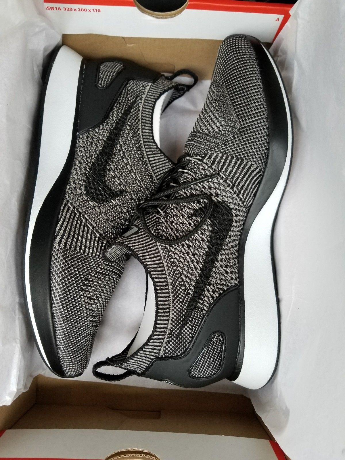 best website 314dc 642f6 Men s Nike Air Zoom Mariah Flyknit Racer Running Lite Charcoal Black 918264  008