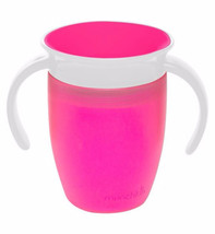 Munchkin 7oz Miracle 360° Trainer Cup Pink - $12.78