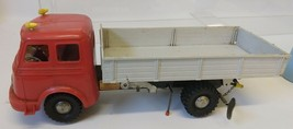 """MS Toys Made in Western Germany Mercedes windup Dump Truck 1960's 14"""" - $150.00"""