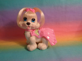 Fisher-Price Snap 'n Style Pets Ginger Shih-Tzu Puppy Dog w/ Pink Dress - $8.17