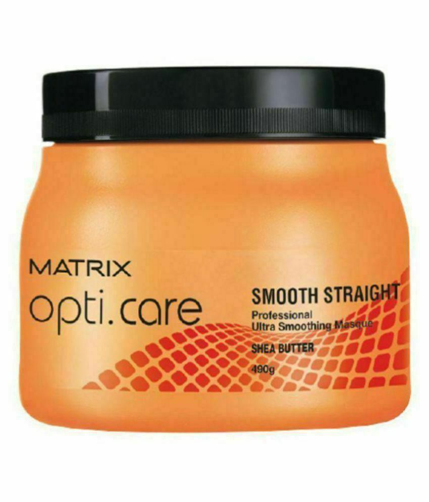 Matrix Opti Care Smooth Straight Professional Ultra Smoothing Hair Masque 490gm*
