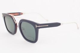 Tom Ford ALEX Shiny Black / Green Sunglasses TF541 05N ALEX-02 - $244.02