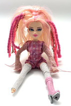 2013 MGA Bratz Doll Cloe Pink Hair Twisty Style Long Straight Hair Beautiful - $9.84