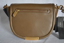 NWT! Marc By Marc Jacobs Luna Leather Crossbody Bag in Teak. Olive Green... - $199.00