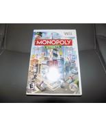 Monopoly Streets (Nintendo Wii, 2010) EUC - $32.40