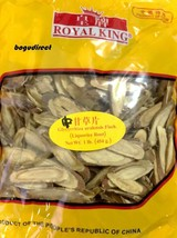 Premium SLICE LICORICE ROOT herbal tea oblique cut, Natural Dry 甘草 16 oz - $24.74