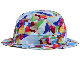 DC Shoes Liddy Bucket Beach Ball & Rooster Bucket Style Cap Hat L XL - $17.09
