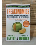 Q&A FREAKONOMICS: A ROGUE ECONOMIST EXPLORES HIDDEN SIDE LEVITT & DUBNER... - $14.80