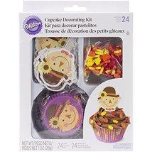 Wilton Cupcake Decorating Kit Scarecrow, Pack of 24 - $9.99