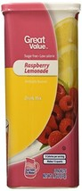 Great Value Raspberry Lemonade Drink Mix, 1.8 Oz - 6 Packets Pack of 2 - $11.89