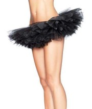 NEW LEG AVENUE WOMEN'S SEXY TUTU BALLET DANCE SKIRT A1705 ONE SIZE BLACK