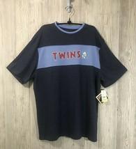 Genuine Merch Minnesota Twins Mens Multicolored Short Sleeve Tee Size XL... - $11.88