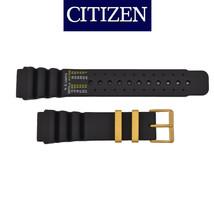 Genuine Citizen  22mm BLACK Rubber Watch Band Strap AL0004-03E AL0005-01E - $34.95