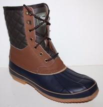 GH Bass NIB Men's Leather Waterproof Winter Duck Snow Boots Fleece Lined - $164.14