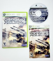 Chrome Hounds (Microsoft Xbox 360 2006) Complete with Manual CIB - Free Shipping - $9.45