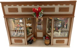 Vintage General Store Wooden Room Box Doll House Christmas Nativity Open... - $593.51