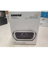 Shure MVI Digital Audio Interface Connector from XRL / Jack 1/4 to compu... - $95.00