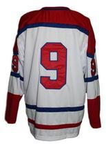 Custom Name # Muskegon Mohawks New Men Sewn Hockey Jersey White Any Size image 4