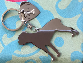 Italian Mastiff Cane Corso Custom Keychain, Dog Breed jewelry, Memorial - $18.00