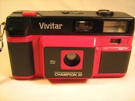 Vintage Camera VIVITAR CHAMPION 35 (for parts) [X2] - $15.34