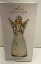 Hallmark Keepsake Ornament Club 2011 Starlight Angel Special Effect New ... - $7.87