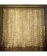 LED Lights Organza Backdrop Ivory YSefa - $221.37