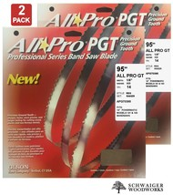"""Olson All-Pro Band Saw Blades 95"""" inch x 1/8"""" 14TPI for Powermatic 141 &... - $44.99"""