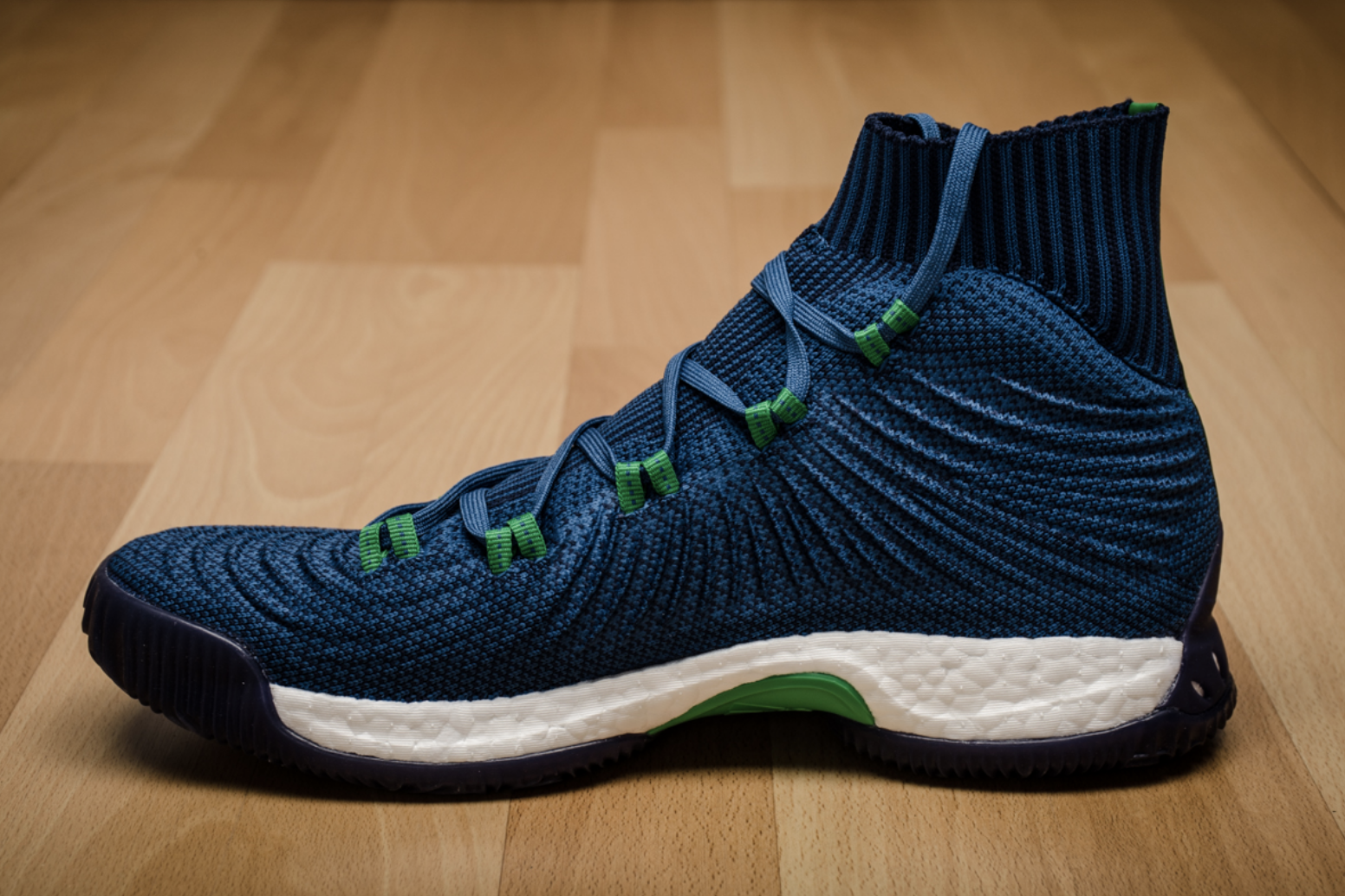 brand new 3fabf b64b4 ... NEW! adidas CRAZY EXPLOSIVE PRIMEKNIT Andrew Wiggins Navy Blue Shoes  BY4468 PE