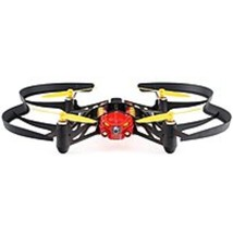 NOB Parrot PF723102 Airborne Night MiniDrone with Headlights - Blaze (Red) - $83.16