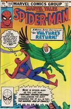 Marvel Tales Starring Spider-Man Comic Book #144 Marvel Comics 1982 NEAR MINT - $5.94