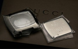 New Gucci Replacement Case, Crystal and Back -  Men's 8500 M -   SS - $69.95