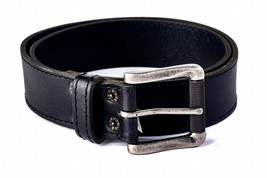 NEW LEVI'S MEN'S STYLISH PREMIUM GENUINE LEATHER VINTAGE BELT BLACK 11LV02NV