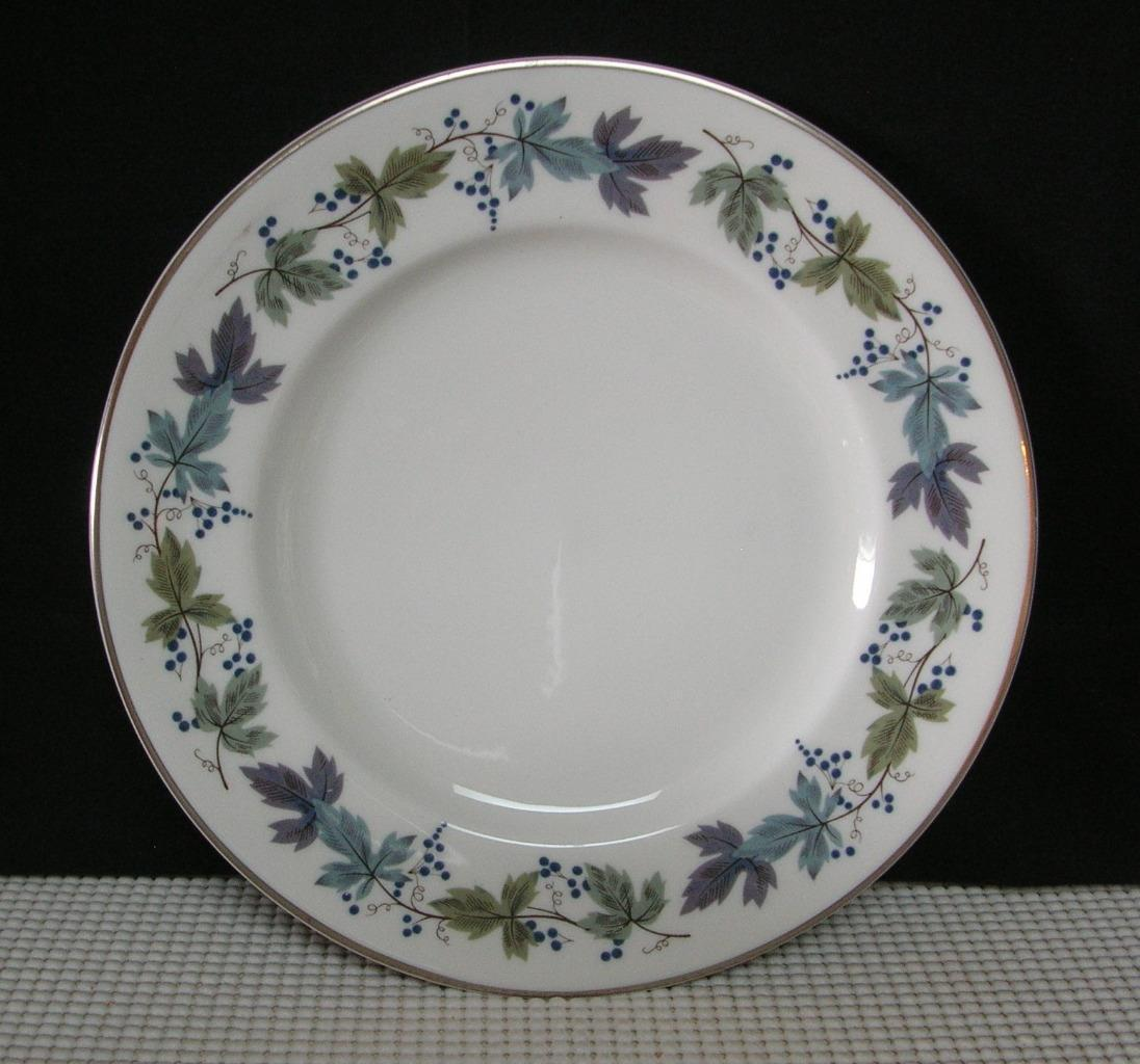 "Primary image for BURGUNDY TC1001 by  Royal Doulton 8"" SALAD PLATE (s) Bone China EUC"