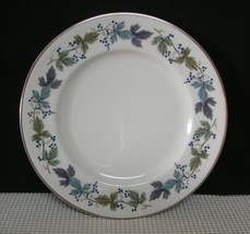"BURGUNDY TC1001 by  Royal Doulton 8"" SALAD PLATE (s) Bone China EUC - $9.06"