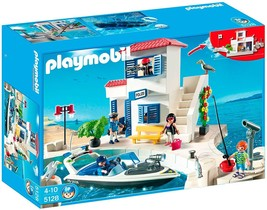 Playmobil 5128 Harbor Police Station with Speedboat  - $101.93